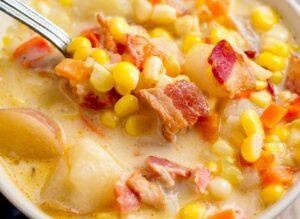 Spicy Chicken Corn Chowder Weight Watchers Recipe