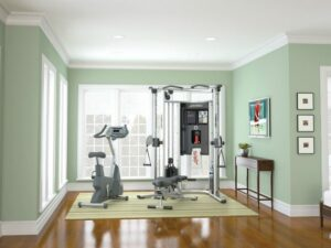 Low budget garage gym ideas