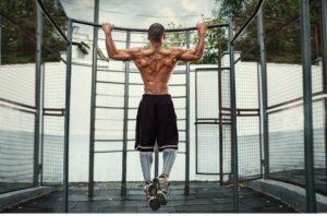 Regular pull-ups workouts to burn calories
