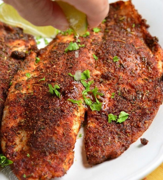 Tilapia for lose Fat and Gain Muscle
