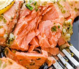 Salmon for lose Fat and Gain Muscle