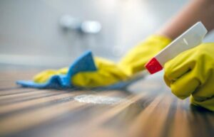 Clean and Disinfect Surfaces coronavirus lockdown