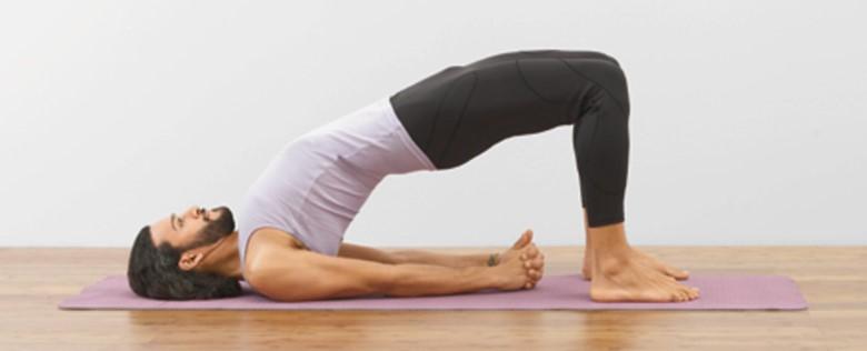 The Bridge Pose to UNLOCK YOUR HIP Flexors