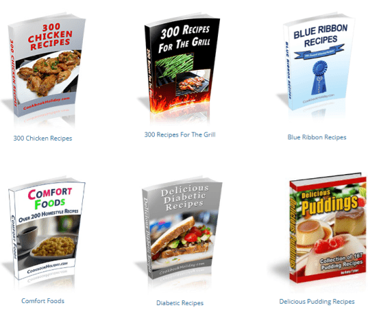 Cook Book Holiday