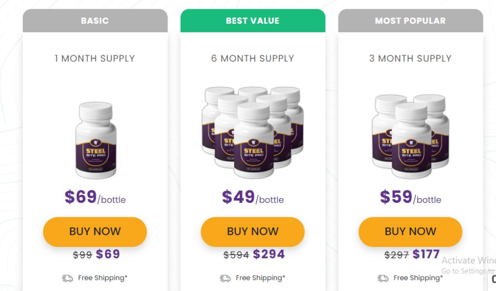 Steel Bite Pro pricing