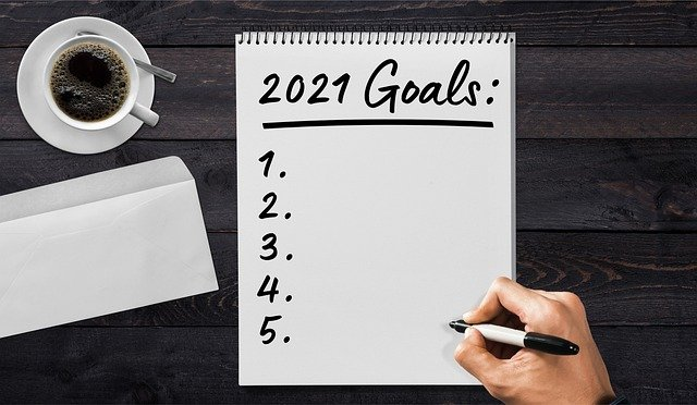 Most common New Year's Resolutions 2021