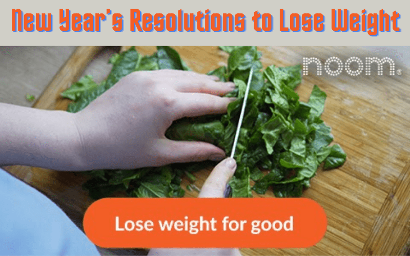 New Year's Resolutions to Lose Weight