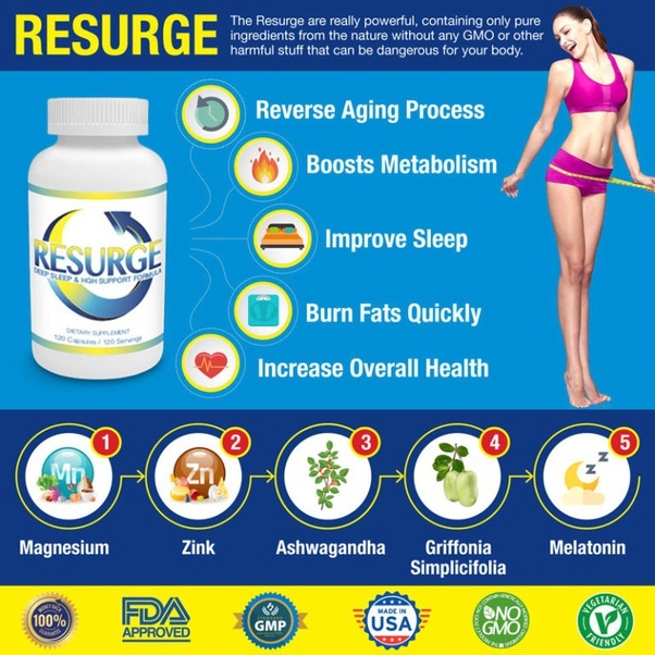 Advantages of resurge supplement fat burners for belly fat