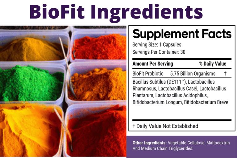 biofits ingredients