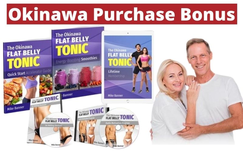 Okinawa Flat Belly Tonic Purchase Bonus - What is included in The Package?